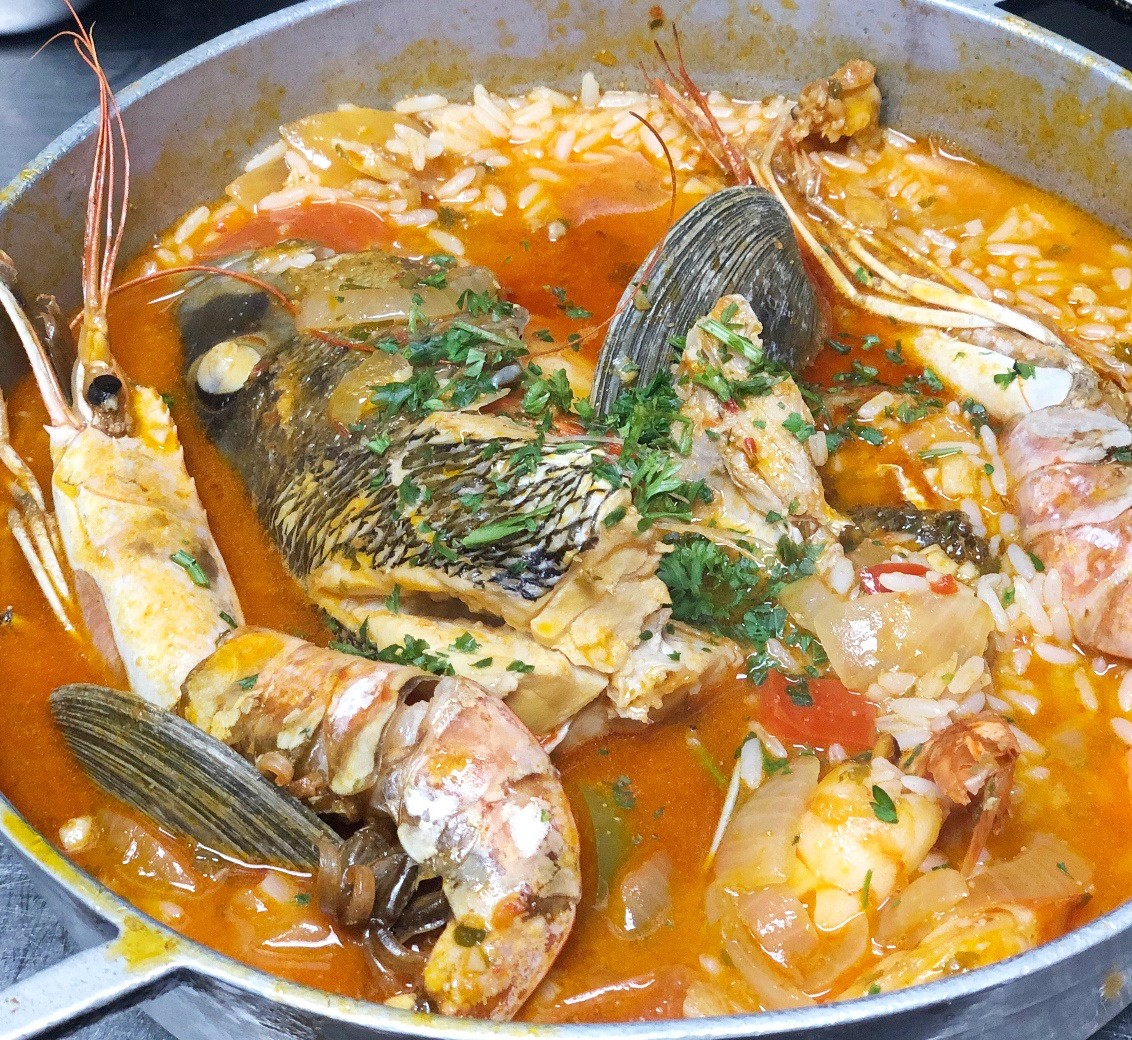 Fish Stew at O Dinis
