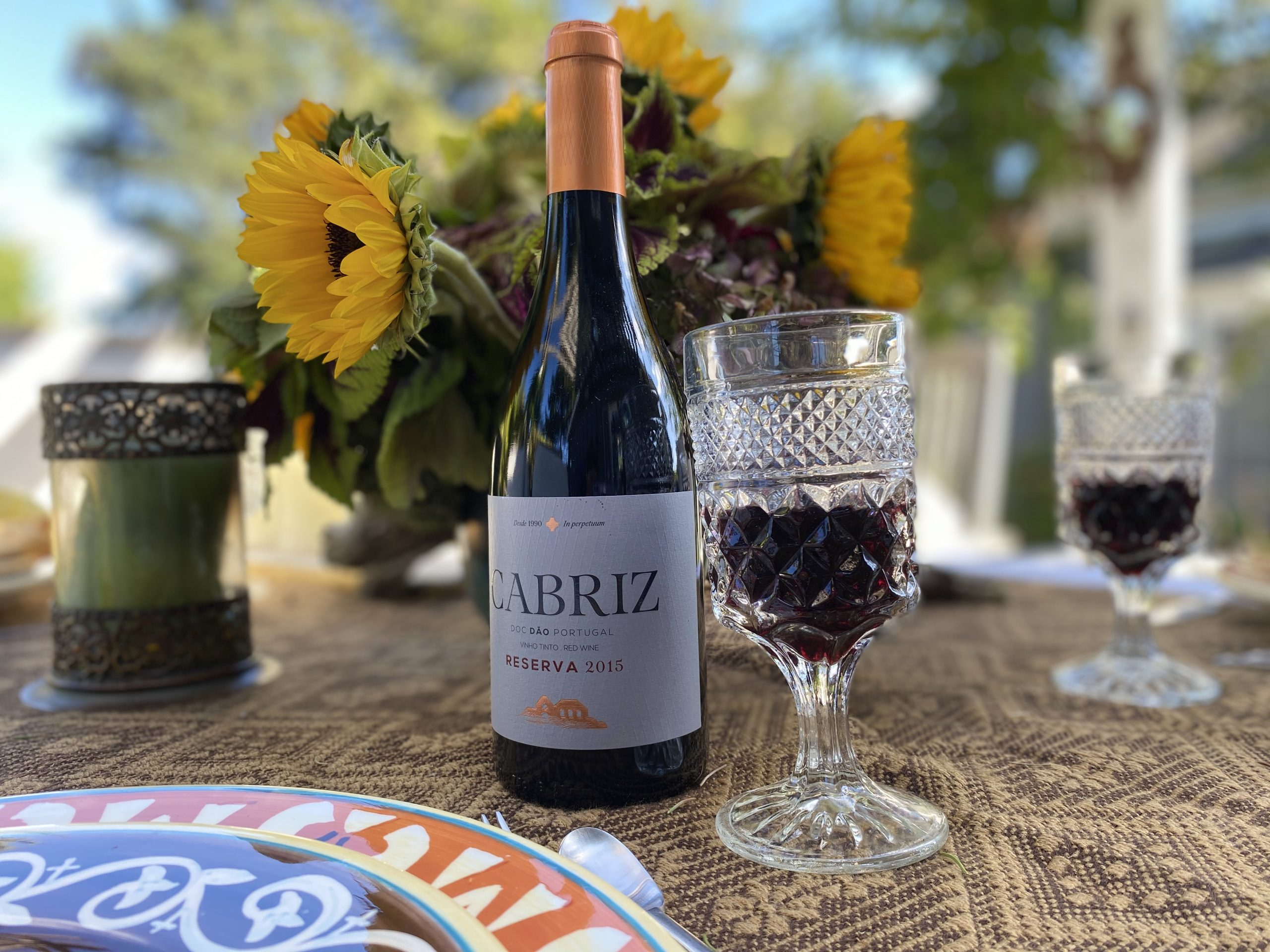 Cabriz Red Wine from Portugal O Dinis